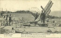 Mortier Français, Artillerie Du Creusot - Le Creusot