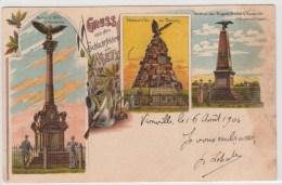 VERNEVILLE-FLAVIGNY-REZONVILLE (Moselle) - Multivues GRUSS VON - Autres Communes