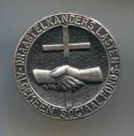 DRAAGTELKANDERS LASTEN SOCIAAL FONDS ALGEMEEN - Netherlands, vintage pin, badge