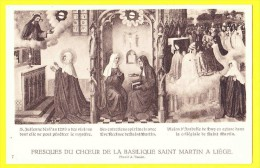* Liège - Luik (La Wallonie) * (Pinxit A. Tassin, Nr 7) Fresques Du Choeur De La Basilique Saint Martin, Peinture, Rare - Liege