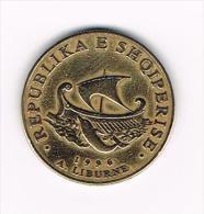 ¨ ALBANIE  20  LEKE  1996 - Albania