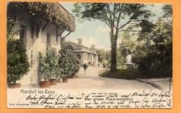 Mondorf Les Bains 1903 Luxembourg Postcard - Mondorf-les-Bains