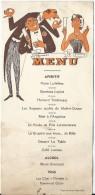 Menu /Humoristique  / Vers 1935   MENU105 - Menus