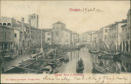 ITALIE CHIOGGIA / Canale Vena E Pascheria / - Chioggia