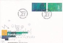 Norway FDC: 1994 Eureka Research    (L58-58) - FDC