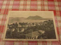 Lago Maggiore - Panorama Di Stresa Borromeo Italy - Unclassified