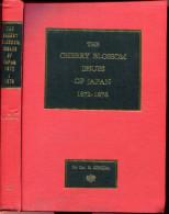 ICHIDA S. - THE CHERRY BLOSSOM ISSUES OF JAPAN 1872/76 , RELIÉ 338 PAGES DE 1965 - LUXE & RARE - Filatelia E Historia De Correos