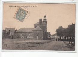HERMONVILLE - La Mairie Et Les écoles - Très Bon état - Other Municipalities