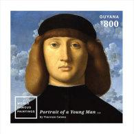 Guyana-2014-Art-Painting- World Famous Paintings - Guiana (1966-...)