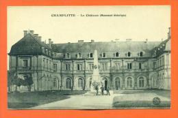 """Dpt  70  Champlitte  """"  Le Chateau ( Monument Historique )  """" - France"""
