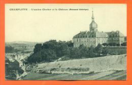 """Dpt  70  Champlitte  """"  L'ancien Clocher Et Le Chateau ( Monument Historique )  """" - France"""