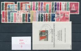 DDR Jahrgang 1956 Gestempelt Kpl. Mi. 80,- - Used Stamps