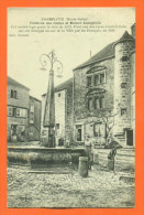"""Dpt  70  Champlitte   """"  Fontaine Des Halles Et Maison Espagnole """" - France"""