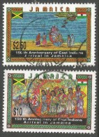 Jamaica. 1996 150th Anniv Of Indian Immigration To Jamaica. Used Complete Set. SG 894-5 - Jamaica (1962-...)