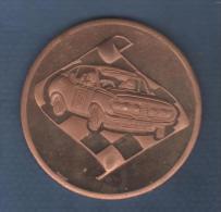 MEDAILLE SPORT AUTOMOBILE RALLYE EN METAL -  5 Cm 51 Gr - PAGLIARI - Profesionales / De Sociedad
