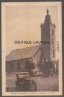 59----BAVAY (Bagacum) L'Eglise Et Le Monument Aux Morts--automobile--cpsm Pf - Bavay