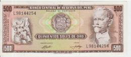 Peru 500 Soles De Oro 1974 Pick 104c UNC - Peru