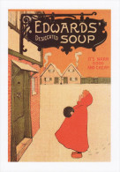 Poster Art Print Edwards Desiccated Soup Edwardian Image Postcard Size Snow - Prints & Engravings