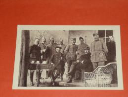 CPA, Carte Postale, Militaria, WW1, Barbot Et Pétain, Offensive D'Artois, Chateau Du Bois De La Haie, Mai 1915, Combes - Personnages