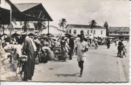 CPSM - COTONOU - MARCHE CENTRAL - EDITIONS R. ROUINVY - Dahomey