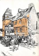 """¤¤  -  108   -  Illustrateur """" MATHURIN MEHEUT """"  -  Vieilles Maisons à TREGUIER    -  ¤¤ - Meheut"""