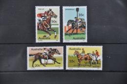 O 195  ++ AUSTRALIA 1978 HORSES ++ MNH - NEUF - POSTFRIS - 1980-89 Elizabeth II
