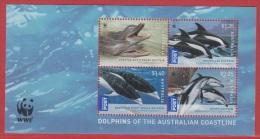 2009 ** (sans Charn., MNH, Postfrish)  DOLPHINS OF THE AUSTRALIAN COASTLINE - Mint Stamps