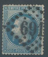 Lot N°26952  N°29, Oblit GC 691 CAEN (13) - 1863-1870 Napoleon III With Laurels