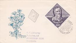 Hungary 1963 Frigyes Koranyi FDC - FDC