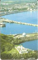 MAN-144 TARJETA DE UN FARO DE LA ISLA DE MAN DOUGLAS HEAD (LIGHTHOUSE) - Isla De Man