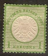 Alemania Imperio 020 * Foto Exacta. 1872. Charnela - Gebraucht