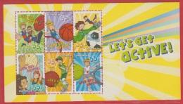 2009 ** (sans Charn., MNH, Postfrish)  Let´s Get Active - Mint Stamps
