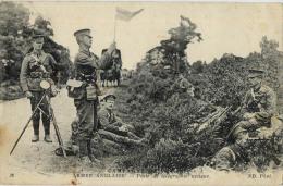 MILITARIA ARMEE ANGLAISE POSTE DE TELEGRAPHIE OPTIQUE - Oorlog 1914-18