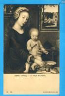 CP, DAVID (Gérard) - La Vierge Et L'Enfant - Musée De Bruxelles, Vierge - Peintures & Tableaux