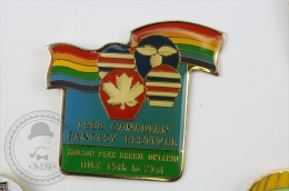 1988 Canadian Fantasy Festival - Molson Park Barrie Ontario, July 15th To 21st  - Pin Badge #PLS - Arthus Bertrand