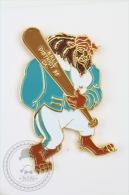 Walt Disney The Beast With Baseball Bat - N.R.L.L. District 36 CA - Turquoise Jacket - Pin Badge #PLS - Disney