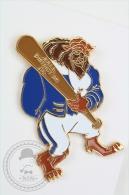 Walt Disney The Beast With Baseball Bat - N.R.L.L. District 36 CA - Blue Jacket - Pin Badge #PLS - Disney