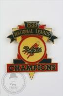 1988 National League Dodgers Champions - Pin Badge #PLS - Béisbol