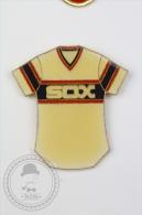 Sox Baseball Team T-Shirt - Pin Badge #PLS - Béisbol