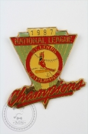 1987 National League St . Louis Cardinals Champions - Pin Badge #PLS - Béisbol