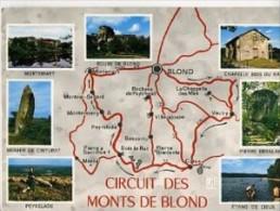 CP87103 - CIRCUIT DES MONTS DE BLOND - CIEUX Et Les Environs - France