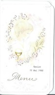 Menu/Communion/ Xavier / 1988         MENU112 - Menus