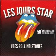 CD ROLLING STONES Disque De Publicité CARREFOUR FRANCE 2 Titres Rare !!!! - Editions Limitées