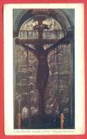 152608 / Poland   Art Leon Wyczolkowski - Black Crucifix Queen Jadwiga - Krakow - Pologne Polen Polonia - Tableaux, Vitraux Et Statues