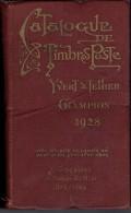 CATALOGUE YVERT & TELLIER 1928 CHAMPION - Timbres Postes Du Monde Entier - Postzegelcatalogus