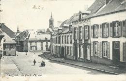 Enghien - Porte D´Hoves - 1906  ( Voir Verso ) - Edingen