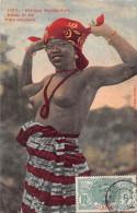 ¤¤  - 1387  -  AFRIQUE OCCIDENTALE   -  Etude N° 66  -  Fille Soussou  - Femmes Aux Sein Nus -  Oblitération - Postcards