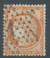 Lot N°26984    N°38, Oblit  Oblit étoile Chiffrée 1 De PARIS ( PL DE LA BOURSE ) - 1870 Siege Of Paris