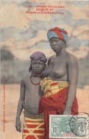 - 1410  -  AFRIQUE OCCIDENTALE  -  Etude N° 89  -  Femme Et Fillette Soussou  - Femmes Aux Sein Nus -  Oblitération - Postcards