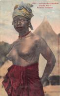 ¤¤  - 1445  -  AFRIQUE OCCIDENTALE  -  Etude N° 24  -  Femme  Soussou  - Femmes Aux Sein Nus -  Oblitération - Postcards